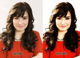 Make up Demi by colorsoftherainbows