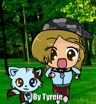 Alanis Winterwater and Tyreie GIF by DulcetIceCocoa
