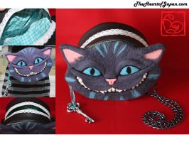 Cheshire Cat Purse by TheHeartofJapan