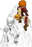 Tsuna and enma (WIP) by skrili