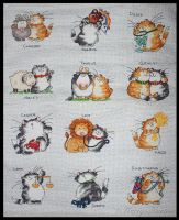 Cattitude Horoscope Sampler by KezzaLN