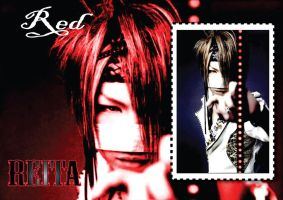 Reita-RED-Wallpaper by Zetsunine