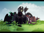 Collab: Friends by fistich