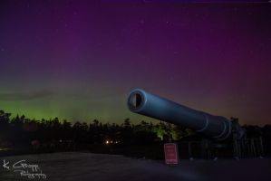 Northern Lights over Cannon by ackbad