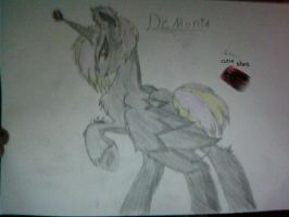 Demonia!!! (New Pony OC) by sly-cooper-love
