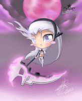 .:WBRS:. White Bell Rock Shooter by pokediged