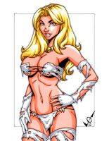 Savage Land White Queen 2 by gb2k