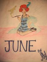 June- Hit On All Sixes by Ale-L