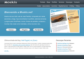 Moskis.net design WIP by Th3-ProphetMan