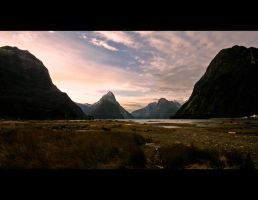Milford Sound, New Zealand by Thrill-Seeker