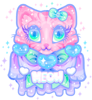 Melty Drip Meow by MissJediflip