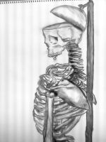 Skeleton Charcoal by mysoulvacation