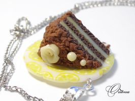 Chocolate lemon biscuit 2 by OrionaJewelry