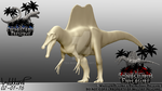 Spinosaurus Progress 03 (New Version) by Tea-rexx
