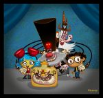 Manny and the Old Villains by mexopolis