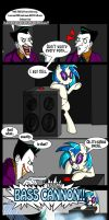 It's just my BASS CANNON!!!! - Joker VS DJ Pon3 by Chibi-Warmonger