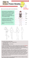 How to draw pose easily by Adiaz-Airtif
