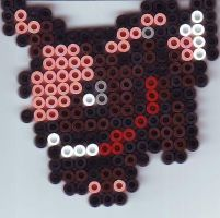 Bead plates: Mini Eevee by LARvonCL