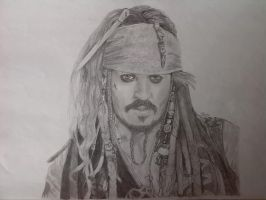 Captain Jack Sparrow by ElizabetaGreenleaf