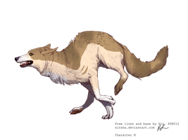 Wolf adoptable 5 by Black-pond-adopts