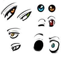 Eye practice #1 by FalseAlibi