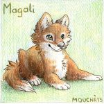 Mon avatar loup  1 by Maggy-mitchi