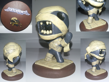 (Binding of Isaac: Afterbirth) Rag Man Sculpture by Skafandra206