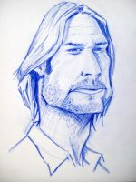 Sawyer caricature by soulbleeding