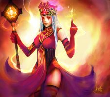 Whitemane by Fanelia-Art