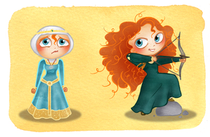 Merida styles by MarineElphie