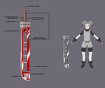 Sarai's Machine Sword :: Concept Art by Vagrant24