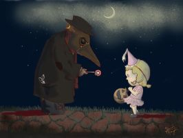 The Doctor and The Princess by Mothmona