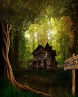 Bg Woods Stock by Moonglowlilly