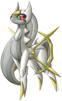 #493 - Arceus by SpinoOne