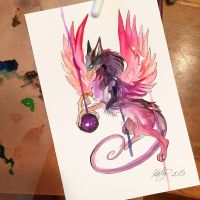 193 dark Gryphon by Lucky978