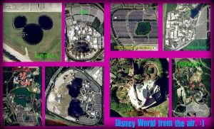 Walt Disney World From the Air by beautytoyourbeast298