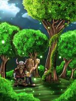 Enchanted Forest by Hispanart