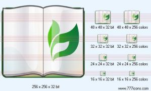 Plant reference book Icon by science-icons