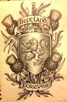 Scotland Forever by 76Bev