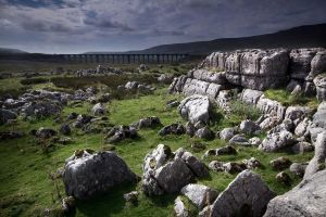 Batty Moss and Ribblehead by crowthius