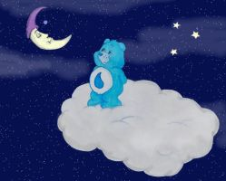 Sadness Bear by child322ofkorn