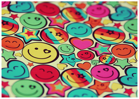 Colourful Smiles by FlyawayFlicks