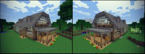 Minecraft 1.8 House by Caboose6789