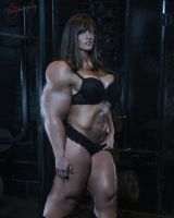 Kristen Graham Muscle Morph 4 by fatehound45