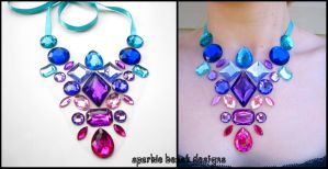 Candy Gems Necklace by Natalie526