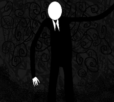 Slenderman on the move by lemur97