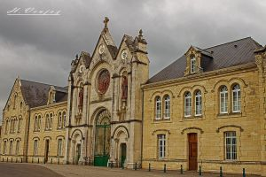 Abbaye de Soligny la Trappe1 Orne France by hubert61