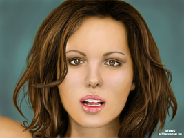 Practice Series - Kate Beckinsale by bm23