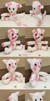 Plushies Crafted to Fight Breast Cancer List by guardian-of-moon