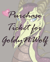 Purchase Ticket For Goldynwolf by SophieSuffocate